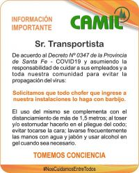 Sr. Transportista